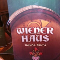 Photo taken at Wiener Haus by Giulio D. on 1/19/2013