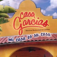 Photo taken at Casa Garcia's Mexican Restaurant by Rocio D. on 6/29/2013
