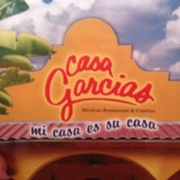 Photo taken at Casa Garcia's Mexican Restaurant by Rocio D. on 7/6/2013