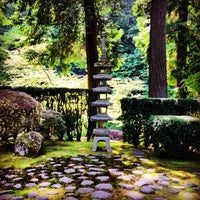 Photo taken at Portland Japanese Garden by Betsy W. on 5/10/2013