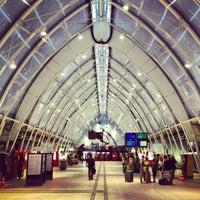 Photo taken at Gare SNCF de Montpellier Saint-Roch by Anton on 7/16/2013