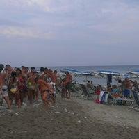 Photo taken at lido Costa Jonica by Pino G. on 8/23/2013