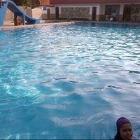 Photo taken at Grage Sangkan Hotel & Spa by Ngka W. on 12/20/2014