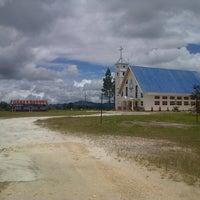 Photo taken at Gereja HKBP Sirisirisi Resort Sirisirisi by JNE DolokSanggul ★. on 4/25/2013