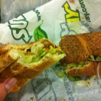 Photo taken at SUBWAY® by Lotfi A. on 11/29/2012