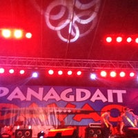 Photo taken at Panagdait Davao Benefit Concert by Jose P. on 3/21/2013