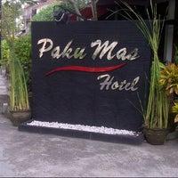 Photo taken at Hotel Pakumas by Gilang N. on 12/31/2013