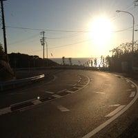 Photo taken at 潮見坂(国道42号線) by S.Kajimoto on 12/21/2013