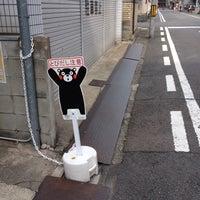 Photo taken at 釜座通(下立売〜三条間) by S.Kajimoto on 3/9/2014
