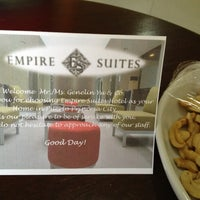 Photo taken at Empire Suites by Genelin Y. on 3/22/2013