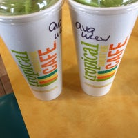 Photo taken at Tropical Smoothie Cafe by Eric V. on 3/26/2015