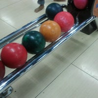 Photo taken at Amazon Bowling by Ellen A. on 2/18/2013