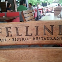 Photo taken at Cafe Fellini by Güven N. on 5/28/2013