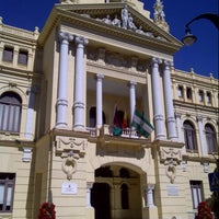 Photo taken at Málaga City Hall by Jim W. on 3/18/2013