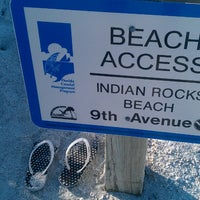 Photo taken at 9th Ave Beach Access by Laura M. on 10/30/2014
