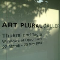 Photo taken at Art Plural by Marcus D. on 3/21/2013
