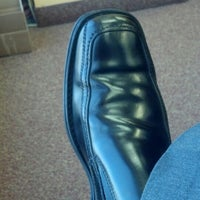 Photo taken at Alvin's Upscale Superior Shoe Shine by Dino K. on 4/8/2013