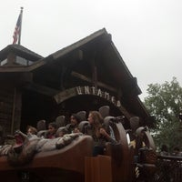 Photo taken at Canobie Lake Park by Rebecca B. on 9/22/2012