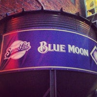 Photo taken at Blue Moon Brewery at The Sandlot by Arden M. on 10/6/2012