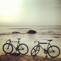 Photo taken at Pantai Teluk Cempedak (Beach) by Edmund L. on 9/30/2012