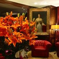 Photo taken at Hotel Bristol Geneva by Ivan L. on 3/24/2013