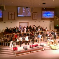 Photo taken at Winchester Church of God by Nikki W. on 12/30/2012