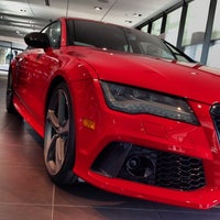 Photo taken at Audi Forum by FOURTITUDE.COM, The Audi Enthusiast Website on 12/20/2013