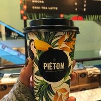 10/13/2017 tarihinde Melis S.ziyaretçi tarafından Piéton Coffee'de çekilen fotoğraf