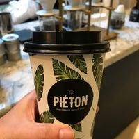 4/25/2017 tarihinde Melis S.ziyaretçi tarafından Piéton Coffee'de çekilen fotoğraf