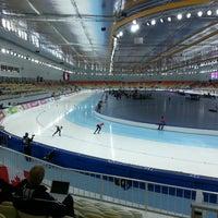 Photo taken at Adler Arena by Anton M. on 3/23/2013