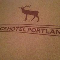 Photo taken at Ace Hotel Portland by Nick L. on 9/9/2014