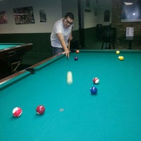 Photo taken at Chicago Billiards Cafe by Sasha A. on 10/5/2013