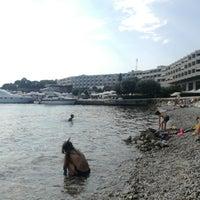 Photo taken at Island Hotel Istra by Sasa C. on 7/25/2018