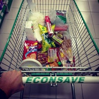Photo taken at Econsave by Travor L. on 7/5/2013