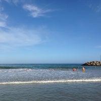 Photo taken at Playa Marina Grande by Beatrice M. on 1/6/2014