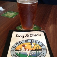 Photo taken at Dog & Duck by Heather D. on 3/31/2013