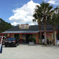 Photo taken at Jack's Cosmic Dogs by Heather D. on 4/1/2013