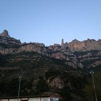 Photo taken at Monistrol de Montserrat by Josep V. on 4/7/2013