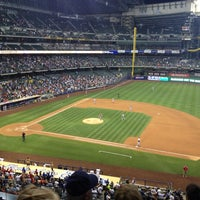 Photo taken at Miller Park by Tom M. on 7/9/2013