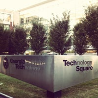 Photo taken at Technology Square by Andy C. on 10/15/2012
