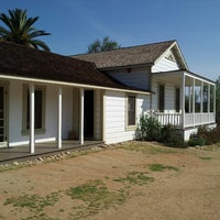 Photo taken at Sikes Adobe Historic Farmstead by Linda G. on 3/23/2014