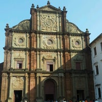 Photo taken at Basilica of Bom Jesus by Matt B. on 1/25/2013