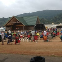Photo taken at Galax Old Time Fiddlers Convention by Zach B. on 8/6/2013