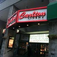 Photo taken at Magic Lantern: Carlton Cinema by Mauro S. on 10/12/2012