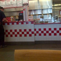 Photo taken at Five Guys by Jus K. on 9/12/2013