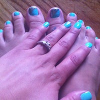 Photo taken at Studio Nails by Danielle C. on 7/2/2013