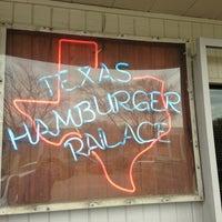 Photo taken at Texas Hamburger Palace by Jason C. on 1/28/2013