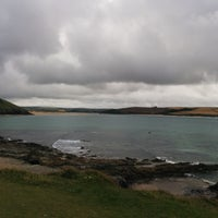 Photo taken at Daymer Bay by Kevin S. on 7/29/2016