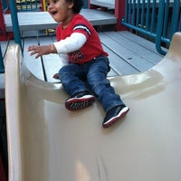 Photo taken at Park Slope Playground by D A. on 9/29/2013