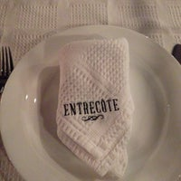 Photo taken at Entrecôte Restoran by Bira B G. on 11/6/2013